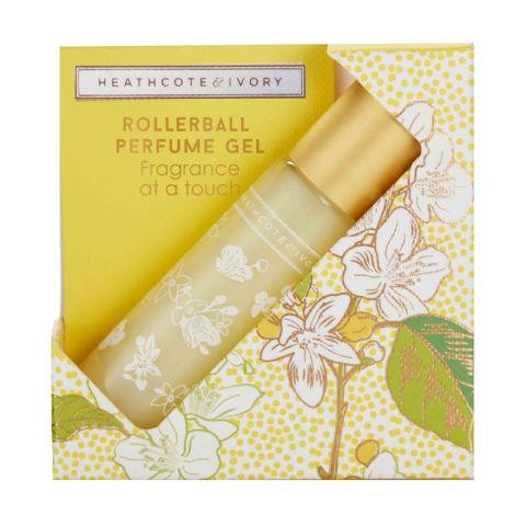 Neroli & Lime Leaves Rollerball Perfume Gel 10ml Heathcote & Ivory